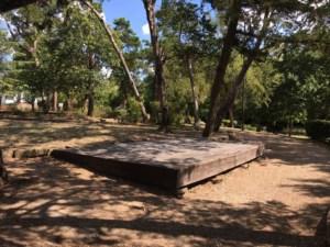 Platform at Kidd Spring Park